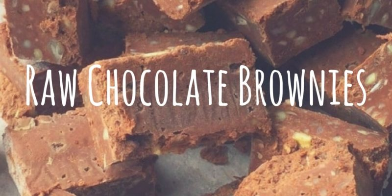 Raw Chocolate Brownies by Mother Nourish